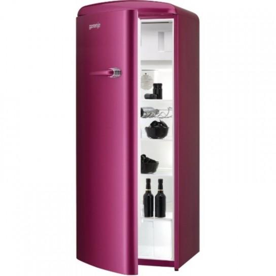 nuovi frigoriferi combinati con stile bombato anni 50
