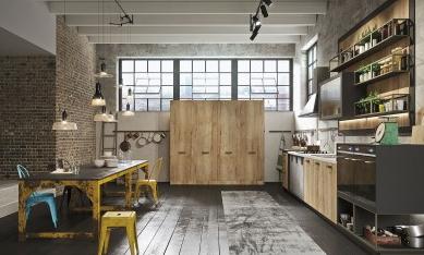 Cucina in legno Snaidero